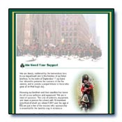 FDNY Emerald Society Landing Page