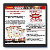 MembersZone Promotional E-mail
